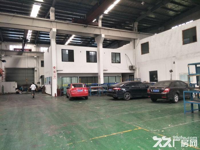 嘉定黄渡工业区3100平米独院厂房仓库出租!可分租高度12米带5吨行车6部-图(3)