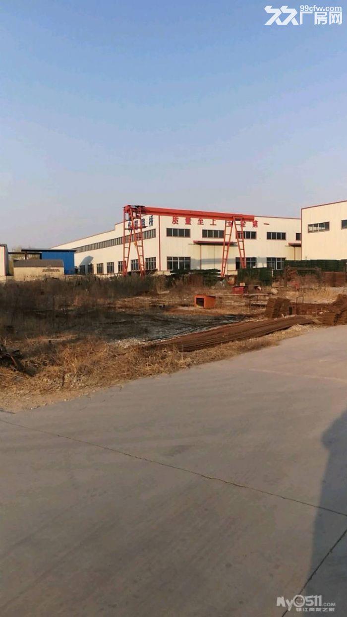 新老312国道旁(临近国道)厂房出租5000平有行车有场地有办公宿舍交通便利-图(1)