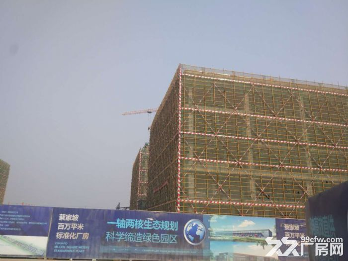 百万米标准化厂房可租可售50年产权两年免租-图(1)