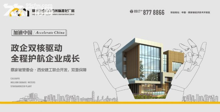 百万米标准化厂房可租可售50年产权两年免租-图(2)