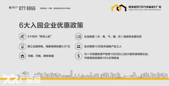 蔡家坡百万平方米标准化厂房出售-图(6)