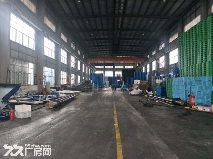 巷北框架厂房2700平50吨行吊空地大租金面议-图(2)