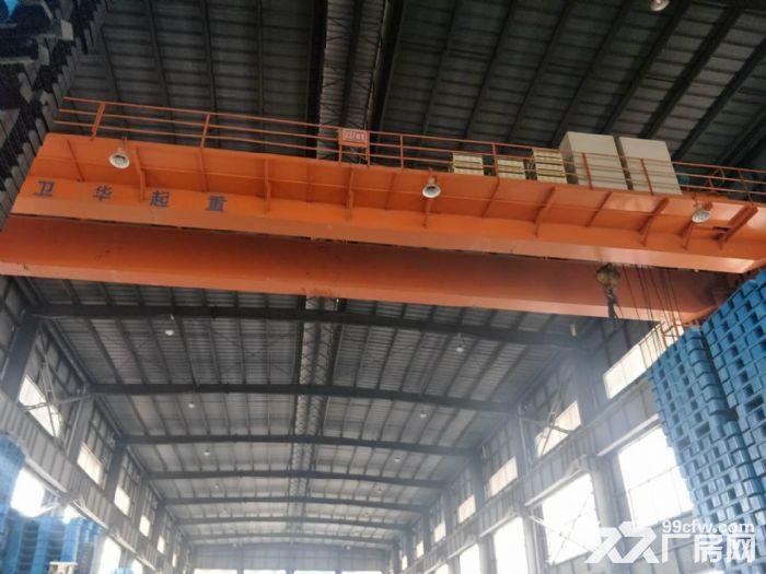 巷北框架厂房2700平50吨行吊空地大租金面议-图(1)