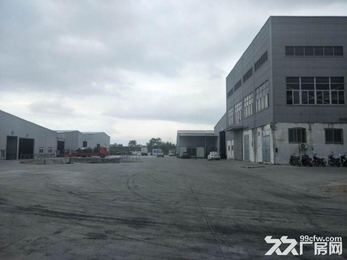 巷北框架厂房2700平50吨行吊空地大租金面议-图(3)