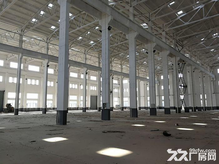 阳山独院30000平米全新重型机械厂房出租场地很大-图(3)