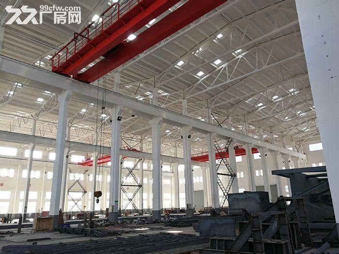 阳山独院30000平米全新重型机械厂房出租场地很大-图(5)