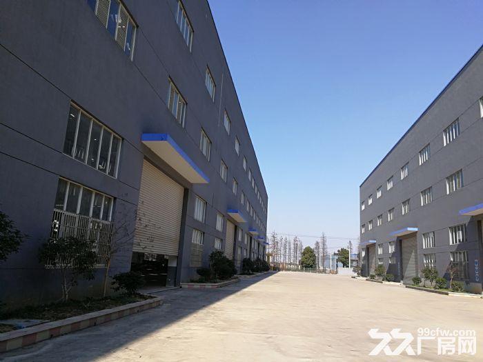 阳山独院30000平米全新重型机械厂房出租场地很大-图(7)