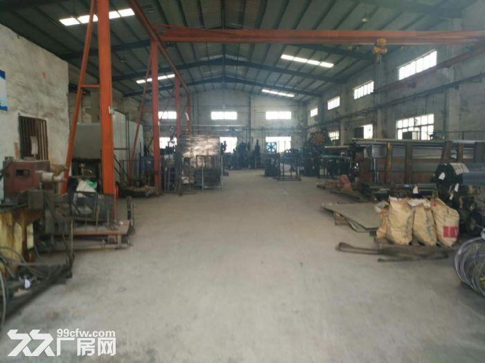 清溪北环路新出混钢结构钢构厂房1800平高10米-图(2)