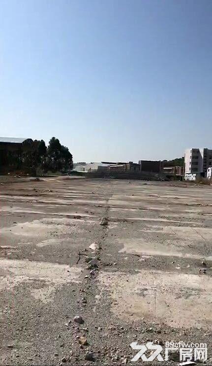 番禺南村金山大道边4万平方米硬化土地出租,交通便利,黄金地段-图(2)