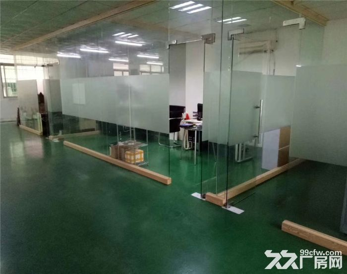 沙井国道边850平米带装修厂房出租-图(2)