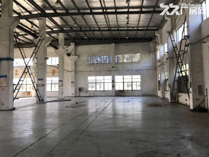 香泾路7500平方单层高10米已架行车厂房仓库出租,可分割,绿证-图(1)