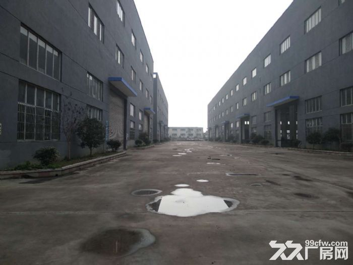 惠山区阳山镇胜利路附近30000平独门独院机械厂房招租-图(1)