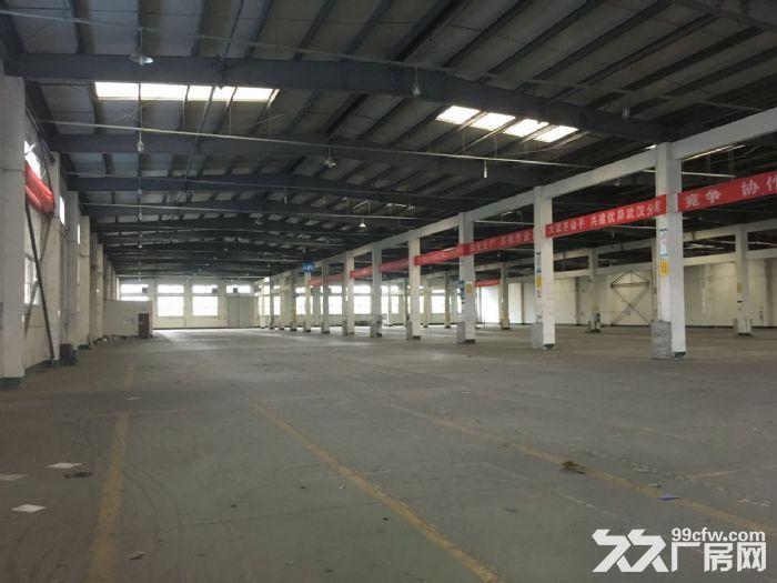 东西湖吴家成熟物流园高台库仓库出租-图(1)