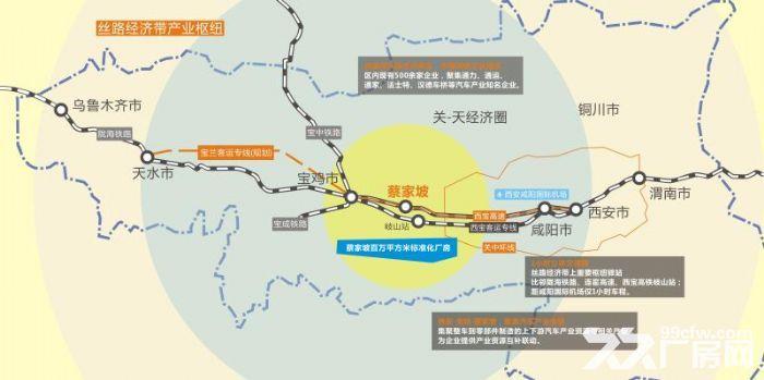背靠陕汽法士特陕齿,百万米厂房可租可售50年产权-图(2)
