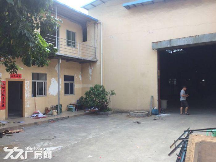 清溪镇三中8米高单一层钢构厂房便宜出租1400平-图(2)