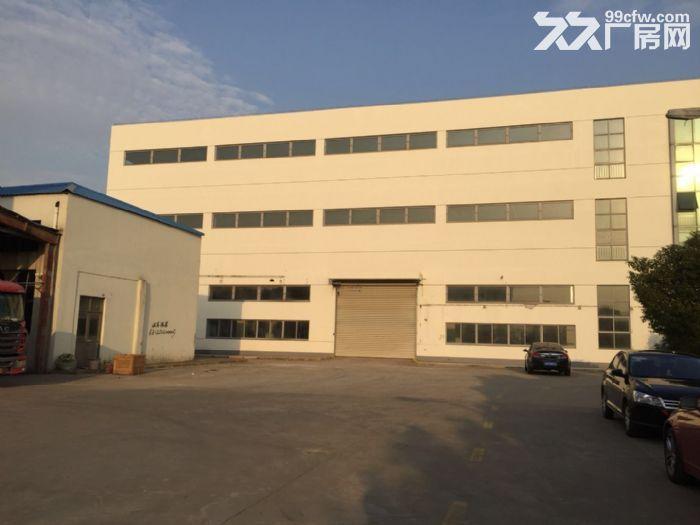 周浦工业园内独栋双层厂房分割出租1.4元起-图(1)