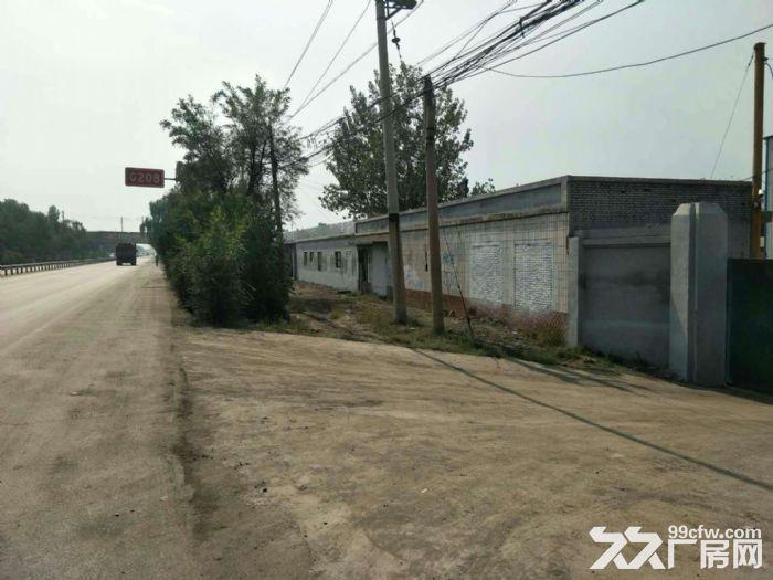 小店区东里解208国道旁12亩地1200平厂房,有办公房出租,招租!-图(2)