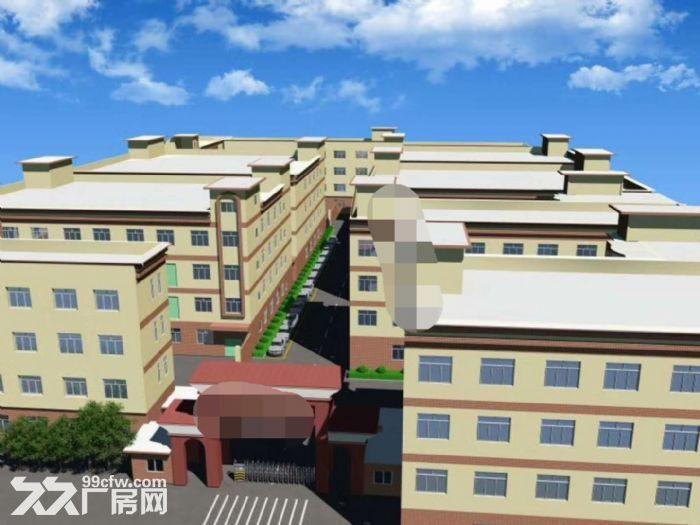 红本!补贴!宝龙50000平独院厂房分租,可分租-图(1)