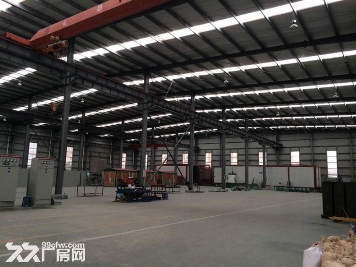 经开区成龙大道2000平米带行车钢构厂库房-图(1)