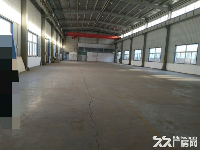 铁西开发区厂房1100平,内部办公400平出租,办公有供暖,厂房举架12米,上下-图(1)