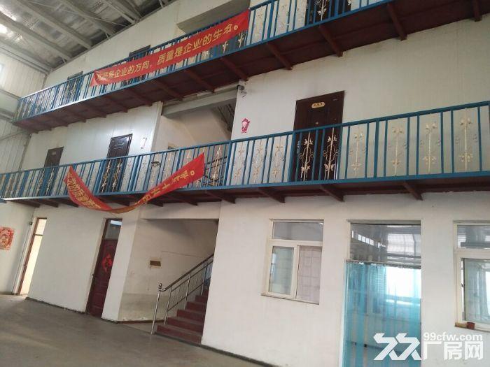 铁西开发区厂房1100平,内部办公400平出租,办公有供暖,厂房举架12米,上下-图(3)