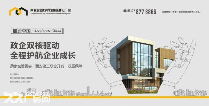蔡家坡百万平米标准化厂房-图(3)