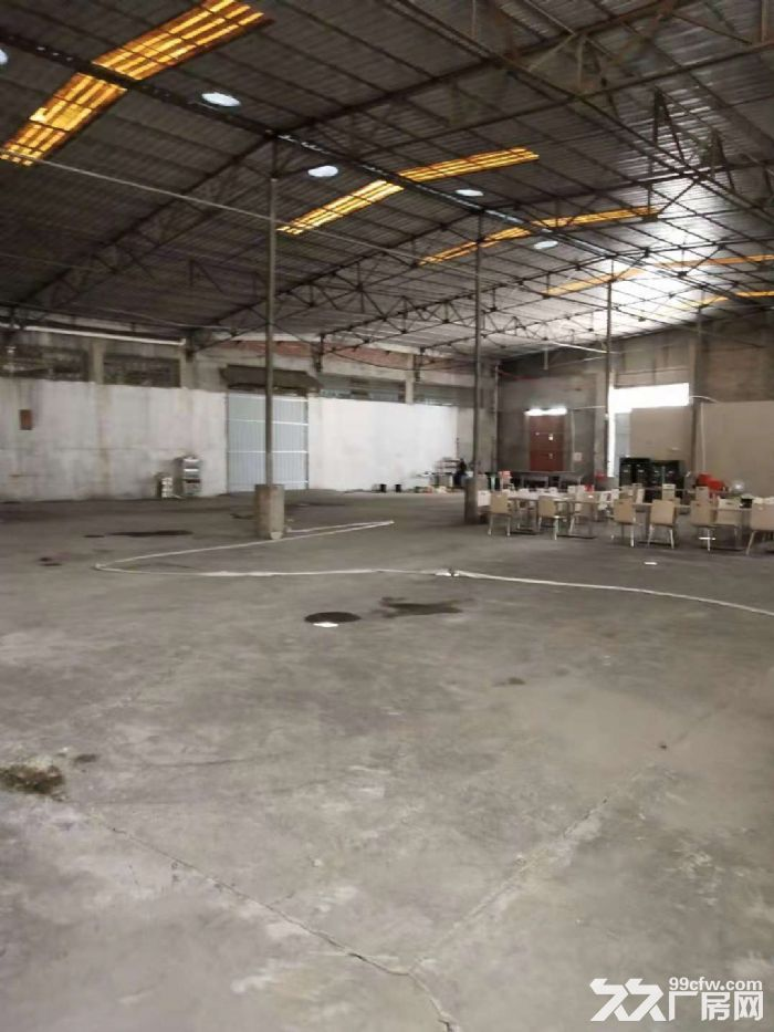 杏前路钢构厂房1300平+522平出租,有红线-图(1)