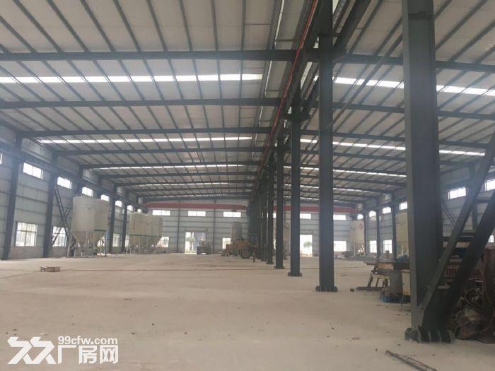 汽车南站新开铺钢材市场标准钢结构厂房带行车专变急租-图(1)
