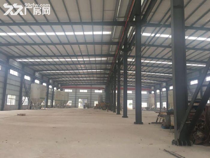 汽车南站新开铺钢材市场标准钢结构厂房带行车专变急租-图(2)