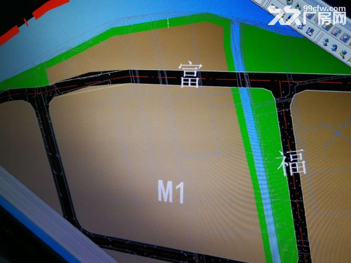 东凤阜沙27亩工业地出售-图(1)