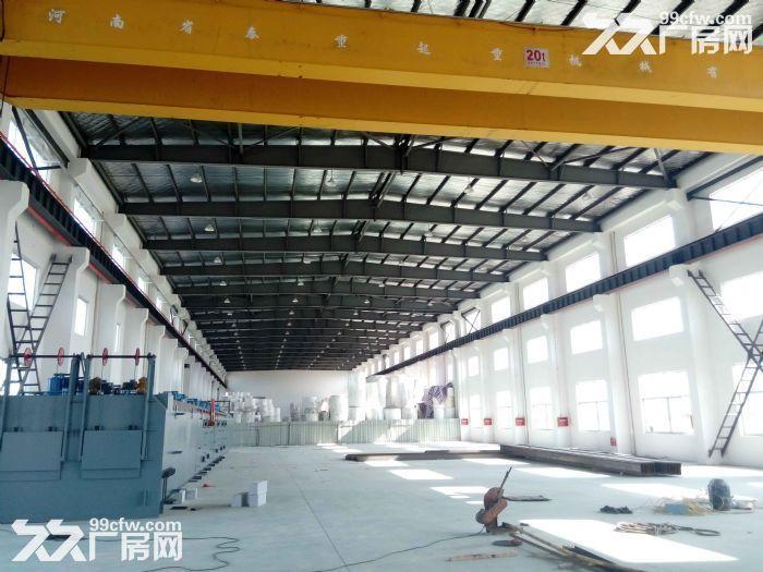 昆山高新区独栋单层650平米厂房出租,有一部5吨行车可以使用。适合仓储,组装-图(1)