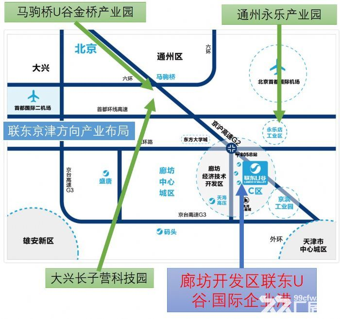 独立产权工业标准厂房,北京周边廊坊开发区,可做环评生产研发-图(2)