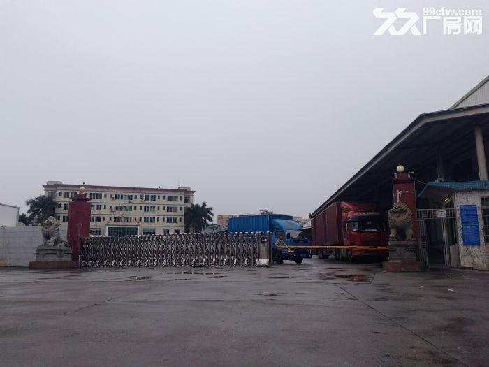广州白云太和绝佳标准高台仓招租2000方,可装货架-图(6)