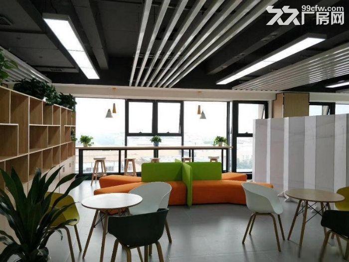 四惠地铁通惠河畔《四惠大厦》700平创业园办公室-图(4)