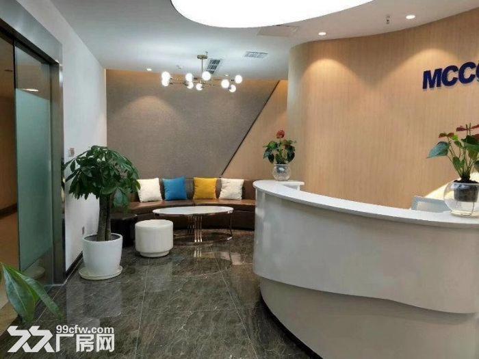 四惠地铁通惠河畔《四惠大厦》700平创业园办公室-图(7)