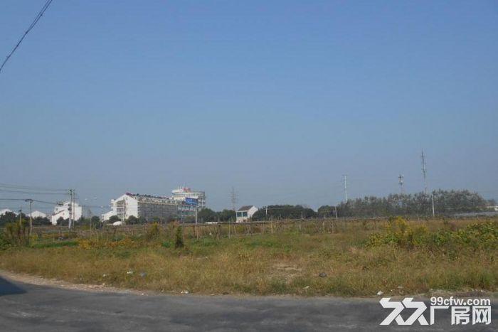 出售江阴市青阳镇小桥村锡澄路东侧25亩商业土地-图(1)