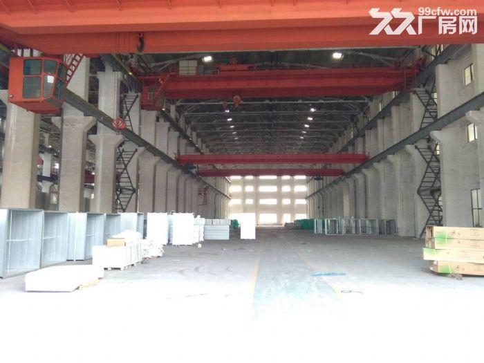 硕放单层重型机械厂房出租15000平米,可分租1200平米,高度23米-图(1)