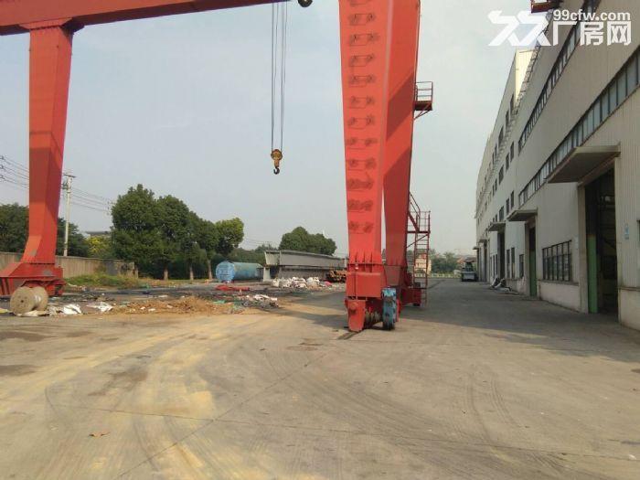 硕放单层重型机械厂房出租15000平米,可分租1200平米,高度23米-图(3)