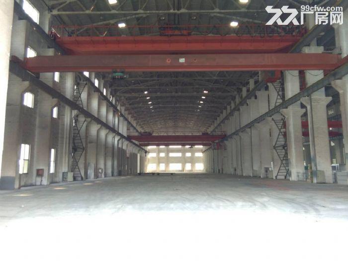 硕放单层重型机械厂房出租15000平米,可分租1200平米,高度23米-图(4)