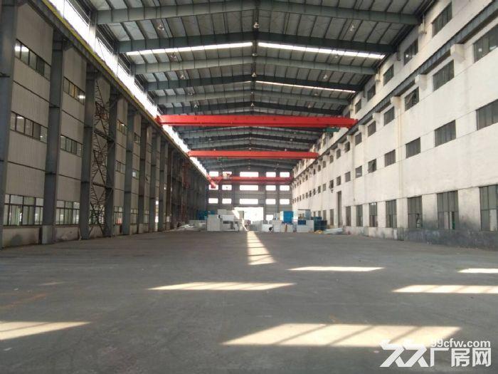 硕放单层重型机械厂房出租15000平米,可分租1200平米,高度23米-图(5)