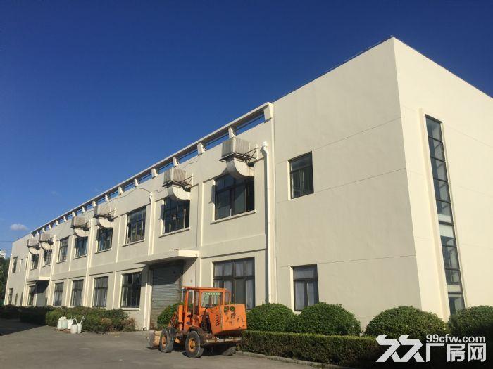 松江全新花园式独栋厂房出售,单价仅7600元每平含税