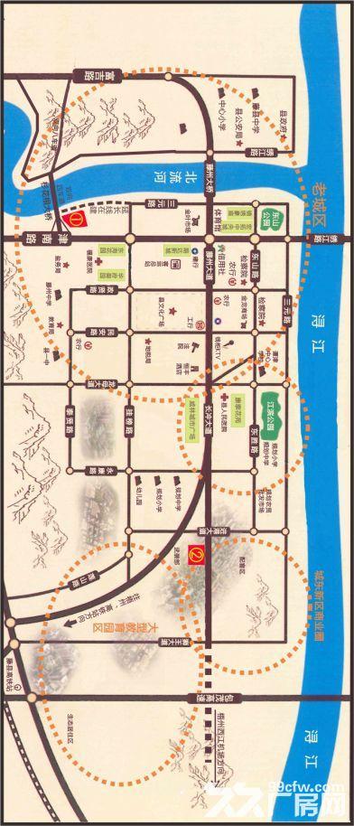 广西省藤县城区中心2宗商住用地出让-图(1)
