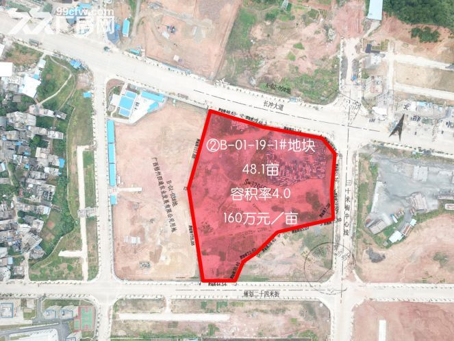广西省藤县城区中心2宗商住用地出让-图(2)