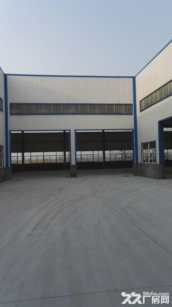 整体6000方单层钢结构带行车厂房-图(1)