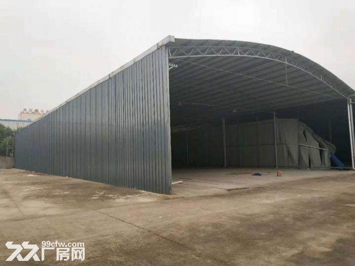 东港新建仓库出租,钢架彩钢棚。大车出入方便。有门卫-图(1)