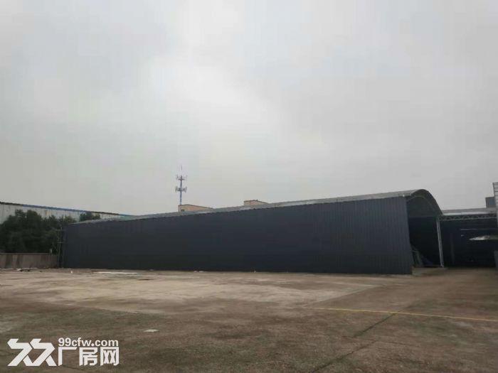 东港新建仓库出租,钢架彩钢棚。大车出入方便。有门卫-图(2)