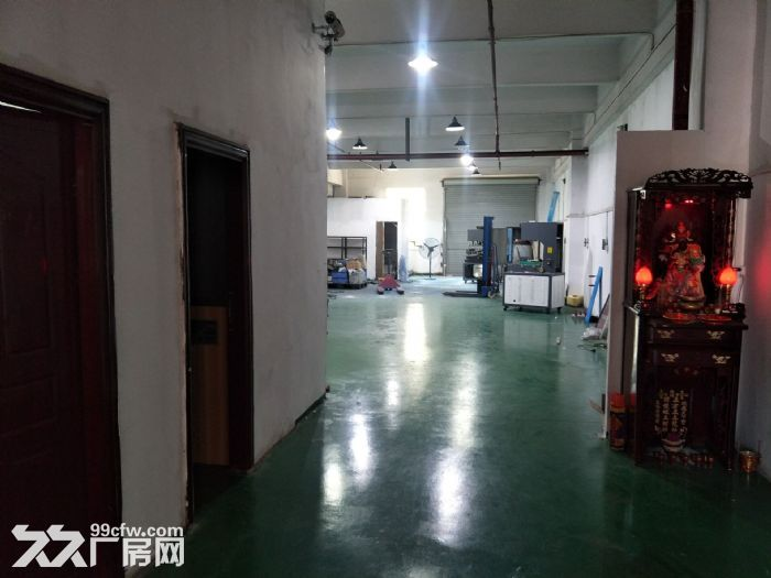 凤岗金凤凰楼上精装修厂房出租500平方,带地坪漆-图(4)