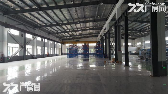 非中介!安镇自有单层机械厂房2600平米出租可分租1300平米,高度13米-图(1)
