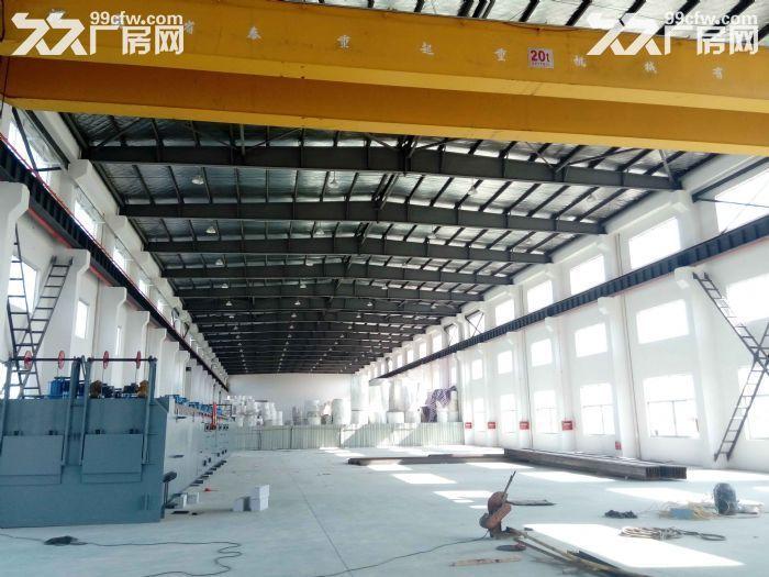 非中介!安镇自有单层机械厂房2600平米出租可分租1300平米,高度13米-图(2)