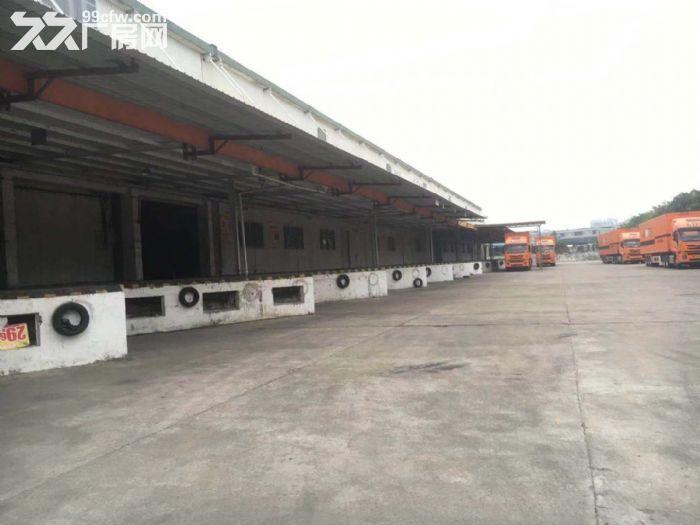 空地大有卸货平台8米高单一层钢构物流仓库出租-图(1)